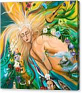 Dream Deep Canvas Print