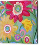 Dream Flowers Canvas Print