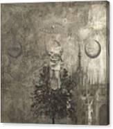 Dream - In Black And White Canvas Print
