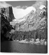Dream Lake, Rocky Mountain National Park  Canvas Print