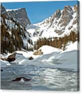Dream Lake Rocky Mountain Park Colorado Canvas Print