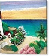 Dream Light House Canvas Print