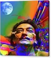 Dream Of Salvador Dali Canvas Print