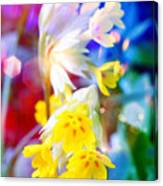 Dream Of Yellow Flowers Canvas Print