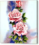 Dream Roses Canvas Print