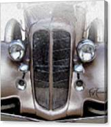 Bugle Boy Buick Canvas Print