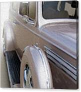 Siding With Buick Canvas Print