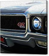 Buick With Gas Canvas Print