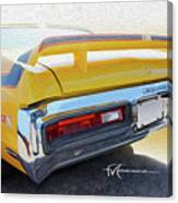 Screamin' Yellow Buick Canvas Print
