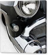 Jet Engine Buick Canvas Print