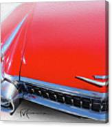 Whole Lot Of Red Canvas Print