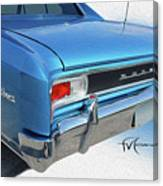 Dream_chevy126 Canvas Print