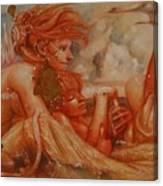 Dreamers At Sandusky Shore Canvas Print