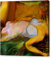 Dreaming Away Canvas Print