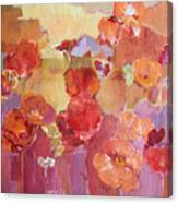 Dreaming Flowers Canvas Print