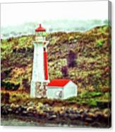 Dreaming Of The Georges Island Light In Halifax Canvas Print
