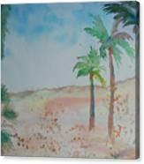 California Beach Canvas Print
