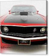 Dream_mustang42 Canvas Print
