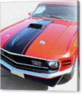 Dream_mustang48 Canvas Print