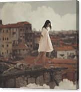 Dreams in old Porto Canvas Print
