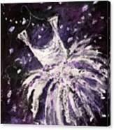 Dreams Of Dancing Canvas Print
