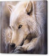 Dreamscape - Wolf Canvas Print