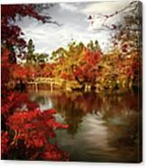 Dreamy Autumn Impressionism Canvas Print