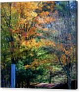 Dreamy Fall Scene Canvas Print
