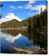 Dreamy Lake In The Rockies Canvas Print