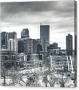 Dreary Denver Canvas Print