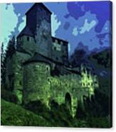 Dreary Fortress Canvas Print