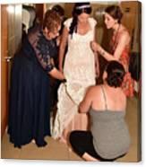 Dress Help Canvas Print