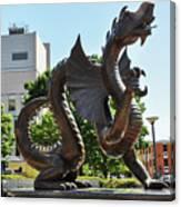 Drexel University Dragon - Philadelphia Pa Canvas Print