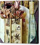 Dried Floral Still Canvas Print
