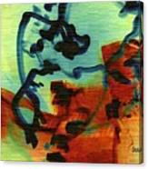 Drifting Canvas Print