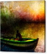 Drifting Into The Light Canvas Print