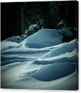 Drifts Canvas Print