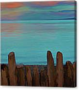 Driftwood Storm Rampart Canvas Print