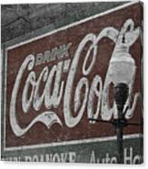 Drink Coca Cola Roanoke Virginia Canvas Print