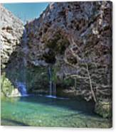 Dripping Springs Falls Canvas Print