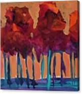 Dripping Tree #1 Canvas Print