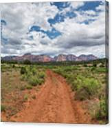 Drive To Loy Canyon, Sedona, Arizona Canvas Print