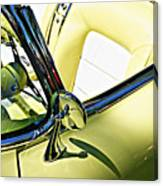 Driver's Seat -- 1958 Chevrolet Corvette At The Golden State Classic Car Show, Paso Robles Ca Canvas Print