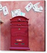 Drop Me A Letter Mr. Postman Canvas Print