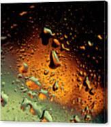 Droplets Ix Canvas Print