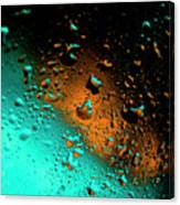 Droplets Vi Canvas Print