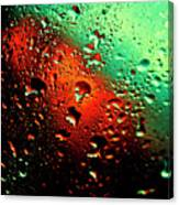 Droplets Vii Canvas Print