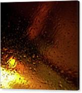 Droplets Xiv Canvas Print