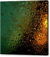 Droplets Xx Canvas Print