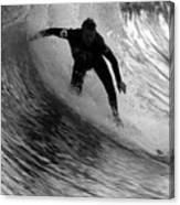 Dropping In At San Clemente Pier Canvas Print